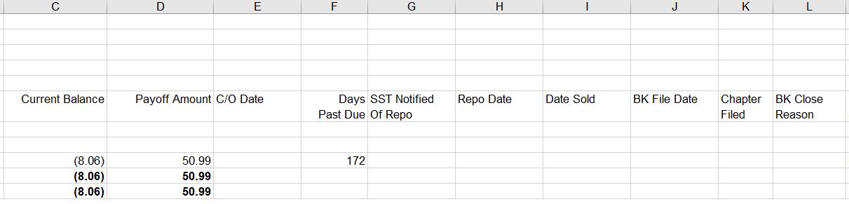 Excel File