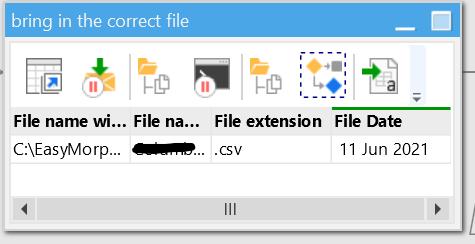 Screenshot temp